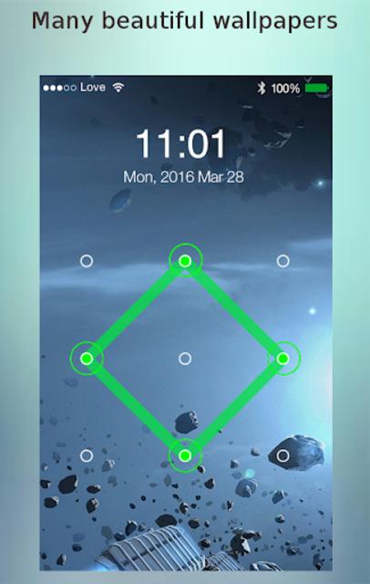Lock screen password screenshot 1