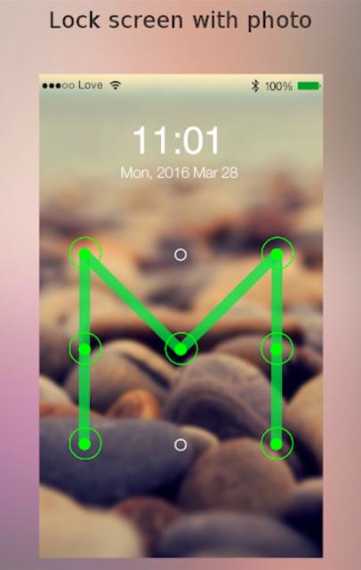 Lock screen password screenshot 2