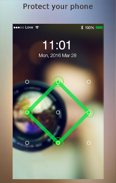 Lock screen password screenshot 3