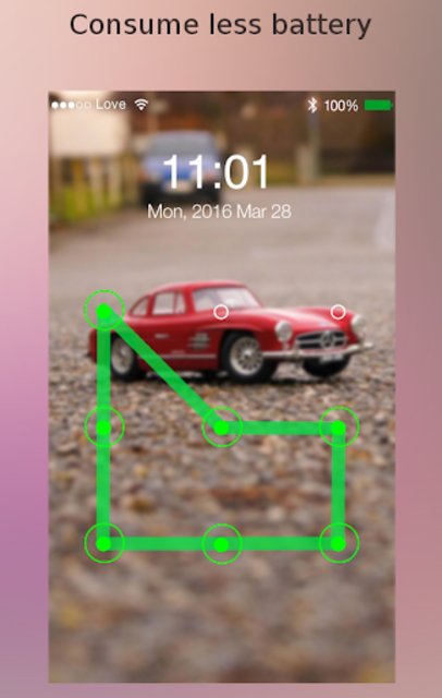 Lock screen password screenshot 6