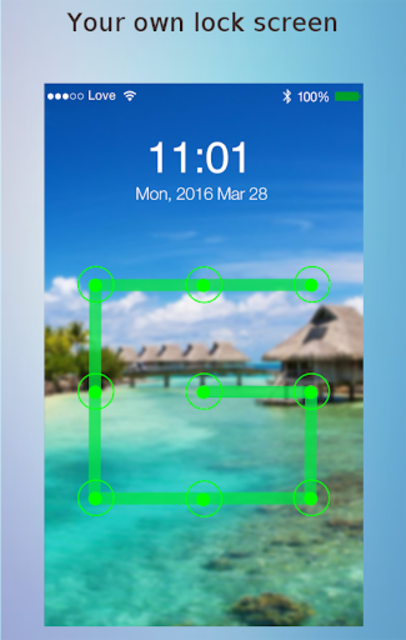 Lock screen password screenshot 15