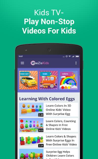 Free Cartoons For Kids By SeeZis screenshot 4