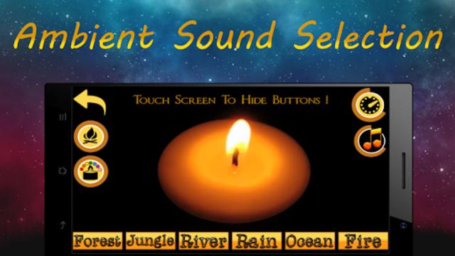 Night Candle : relaxation, sleep, meditation screenshot 1