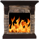 Icon for Live Fireplace : Sleep & Relax