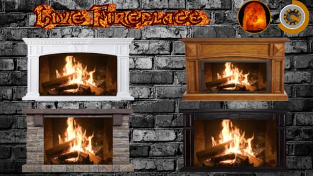 Live Fireplace : Sleep & Relax screenshot 5
