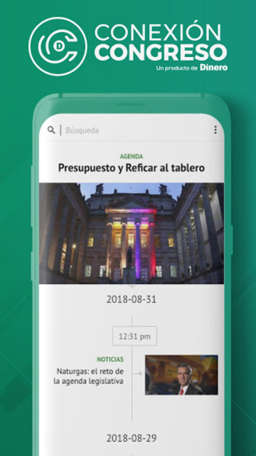 Conexión Congreso screenshot 1