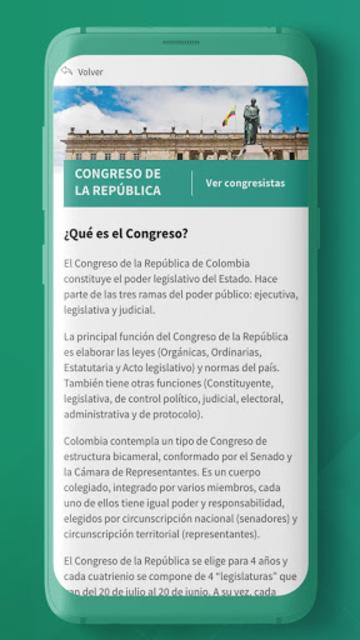 Conexión Congreso screenshot 3