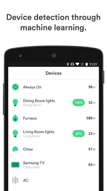 Sense Home Energy Monitor screenshot 5