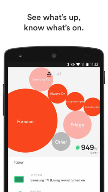 Sense Home Energy Monitor screenshot 1