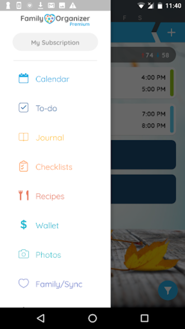 Calendar - Family Organizer screenshot 2