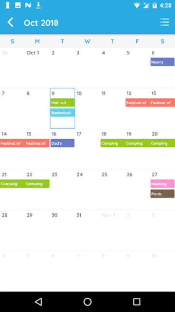Calendar - Family Organizer screenshot 3