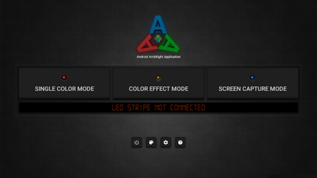 Ambient light Application for Android screenshot 1