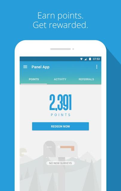 Panel App - Prizes & Rewards screenshot 1