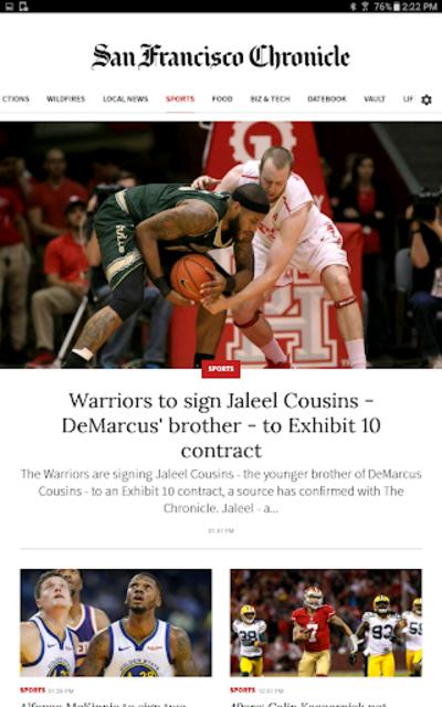 San Francisco Chronicle News screenshot 13