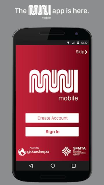 MuniMobile screenshot 1