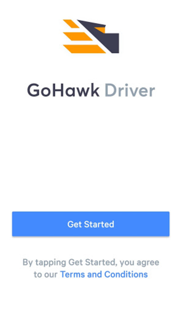 GoHawk Driver screenshot 1