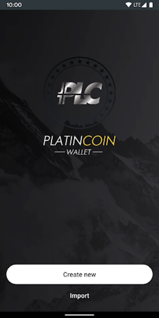 Platincoin Wallet - PLC Group AG screenshot 1