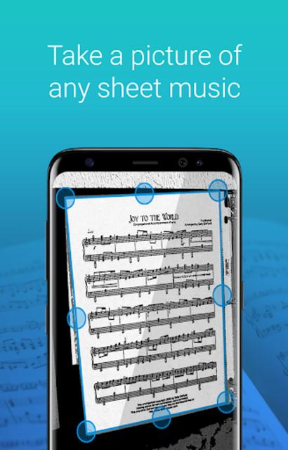 My Sheet Music - Sheet music viewer, music scanner screenshot 1