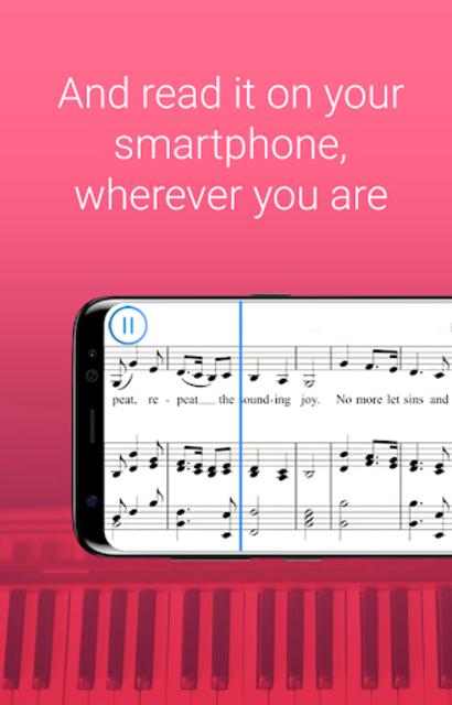 My Sheet Music - Sheet music viewer, music scanner screenshot 3