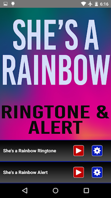 She's a Rainbow Ringtone screenshot 2