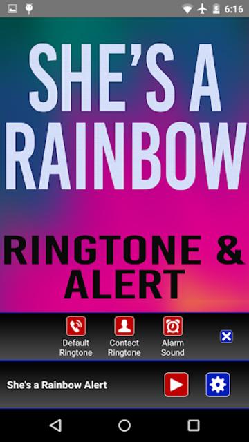 She's a Rainbow Ringtone screenshot 3