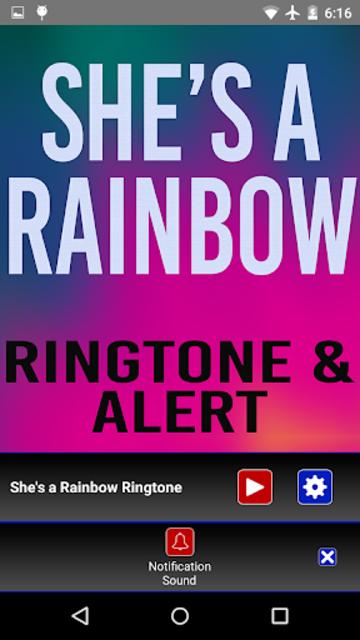 She's a Rainbow Ringtone screenshot 4