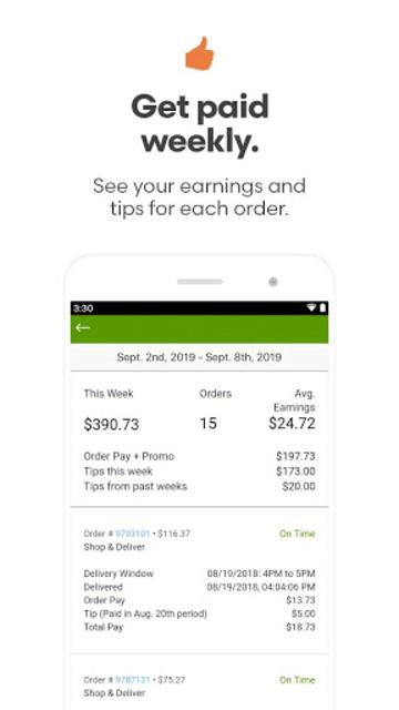Shipt Shopper: Shop for Pay screenshot 3