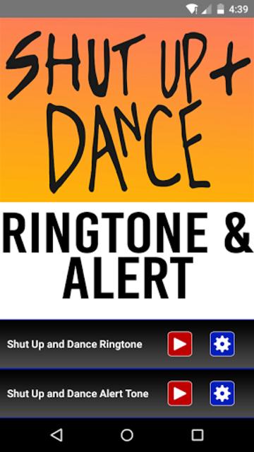 Shut Up and Dance Ringtone screenshot 1