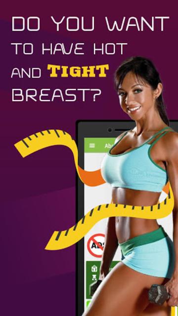 Beautiful breast workout screenshot 1