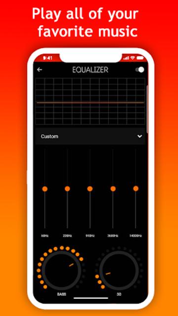 Mussi - music streaming screenshot 2