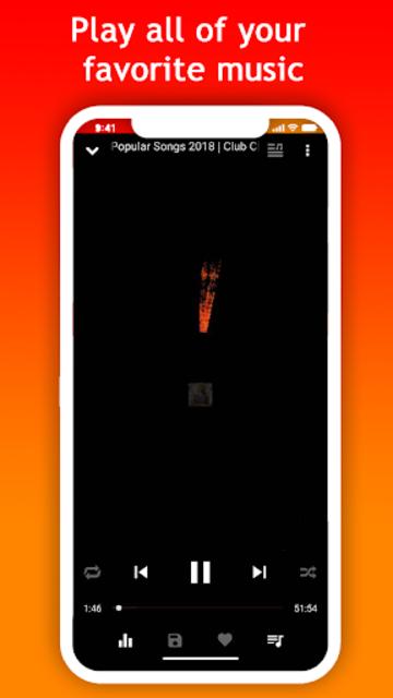 Mussi - music streaming screenshot 3