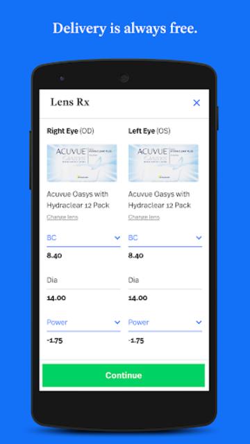 Simple Contacts - Prescription Renewals and Lenses screenshot 5