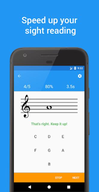 Muder - Music Sight Reading screenshot 2