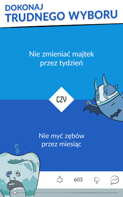 Trudny Wybór - co wolisz? screenshot 10