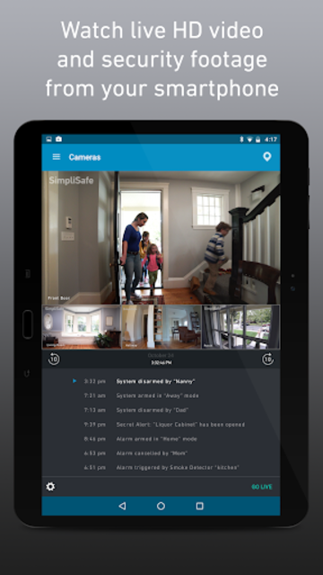 SimpliSafe Home Security App screenshot 6