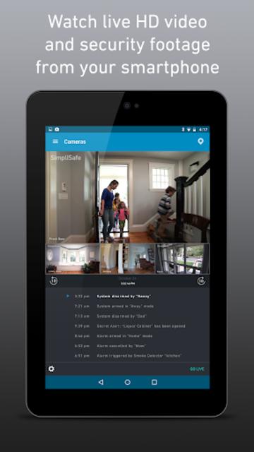 SimpliSafe Home Security App screenshot 10