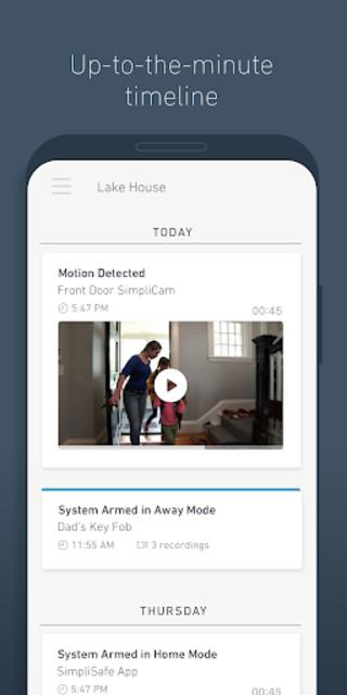 SimpliSafe Home Security App screenshot 5
