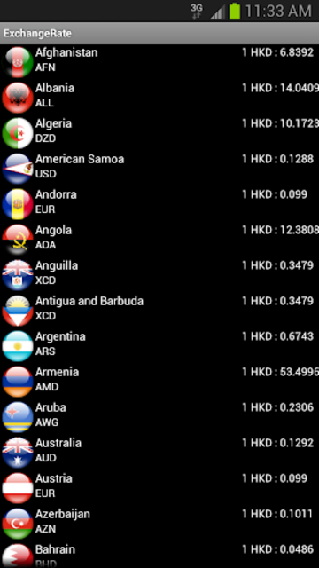 Exchange Rate (C)(Donate) screenshot 3