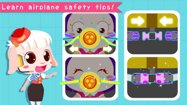 Baby Panda's Airport screenshot 4