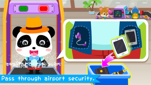 Baby Panda's Airport screenshot 8
