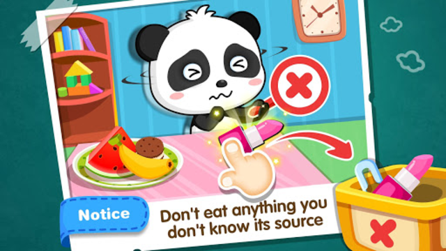 Baby Panda Home Safety screenshot 12
