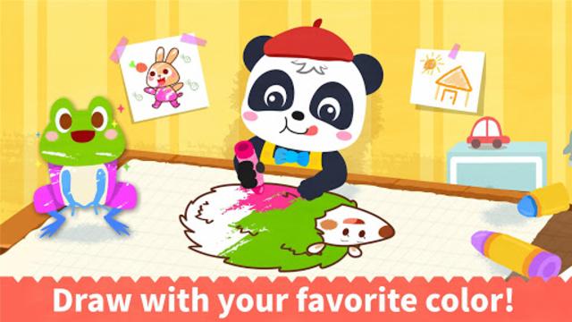 Baby Panda's Coloring Book screenshot 2