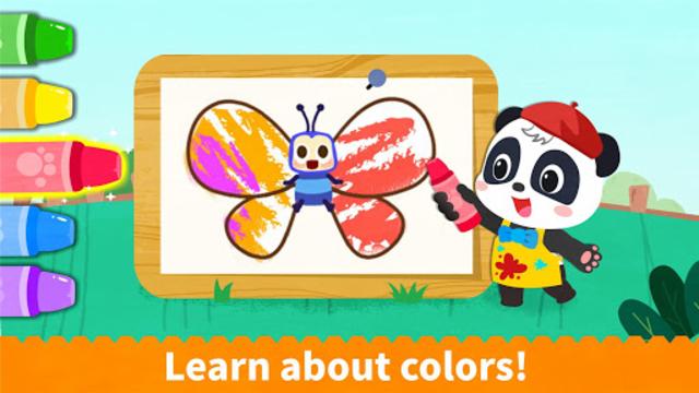 Baby Panda's Coloring Book screenshot 3