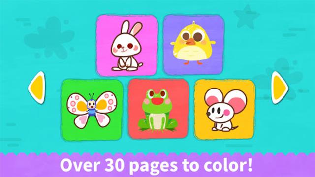 Baby Panda's Coloring Book screenshot 11