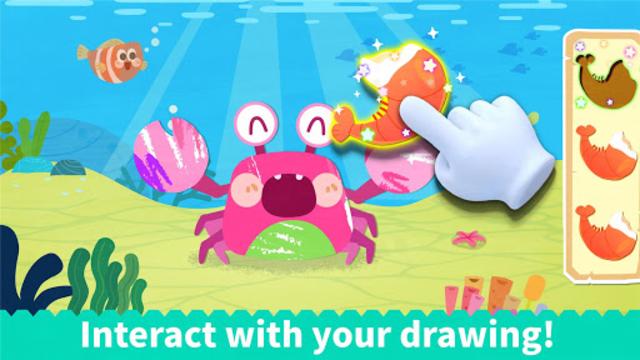 Baby Panda's Coloring Book screenshot 16