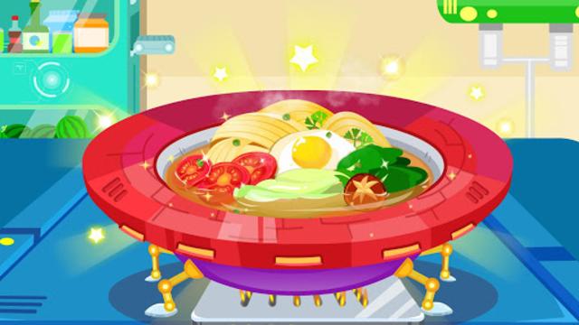 Little Panda's Space Kitchen - Kids Cooking screenshot 3