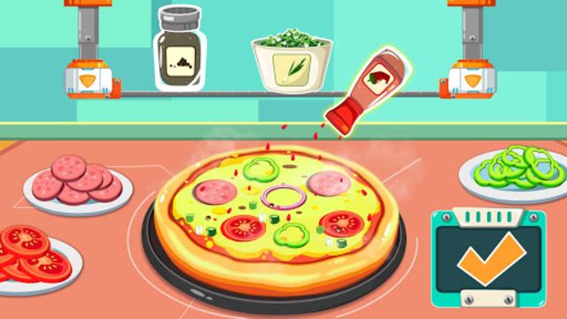 Little Panda's Space Kitchen - Kids Cooking screenshot 4