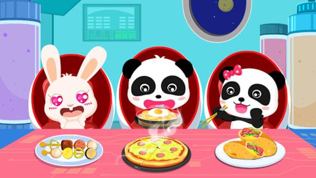 Little Panda's Space Kitchen - Kids Cooking screenshot 5