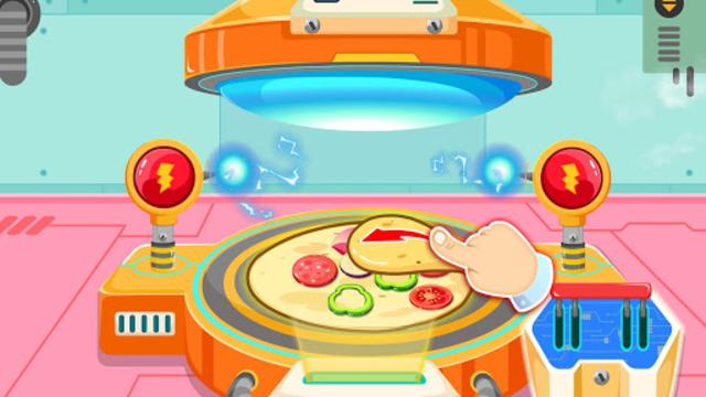 Little Panda's Space Kitchen - Kids Cooking screenshot 8