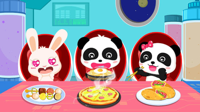 Little Panda's Space Kitchen - Kids Cooking screenshot 17